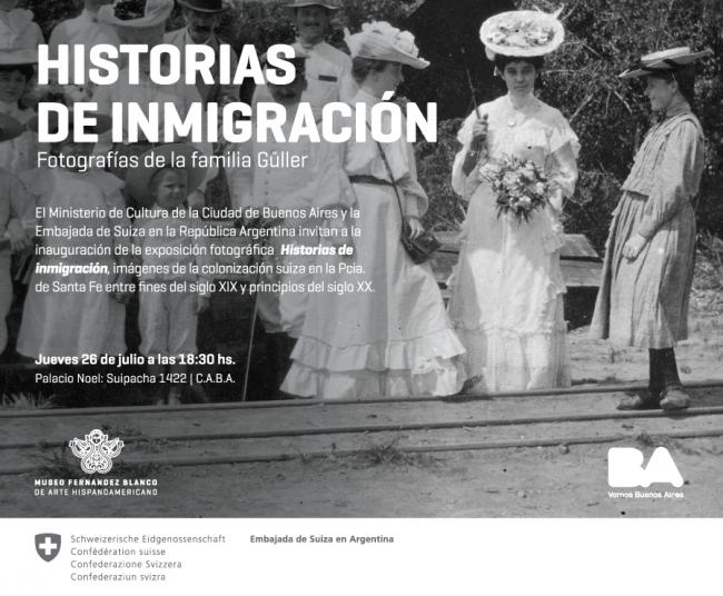 Historias de Inmigración. Fotografías de la Familia Güller. Imagen cortesía Ministerio de Cultura de la Ciudad de Buenos Aires