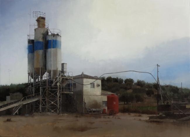 Obra ganadora. 'Paisaje industrial', 2015, Francisco Escalera