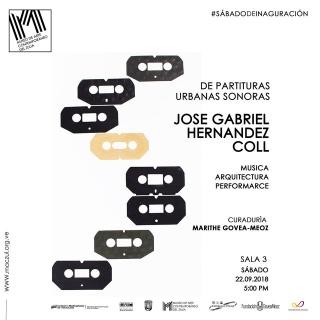 Partituras Urbanas Sonoras. Música, Arquitectura y Performance