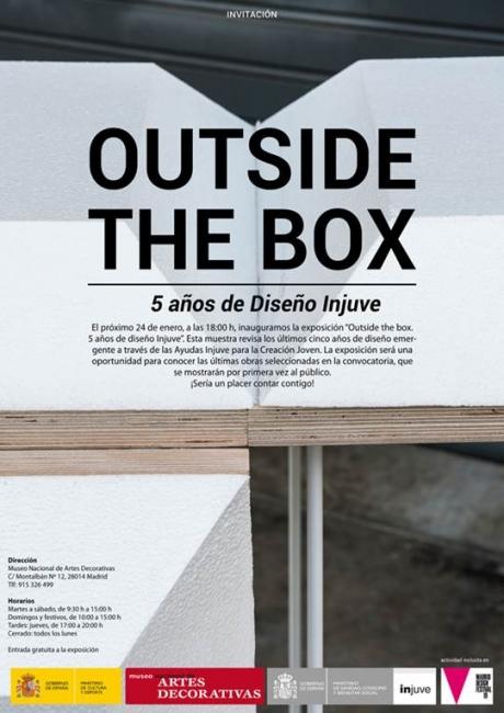 Outside the box. 5 años de Diseño Injuve