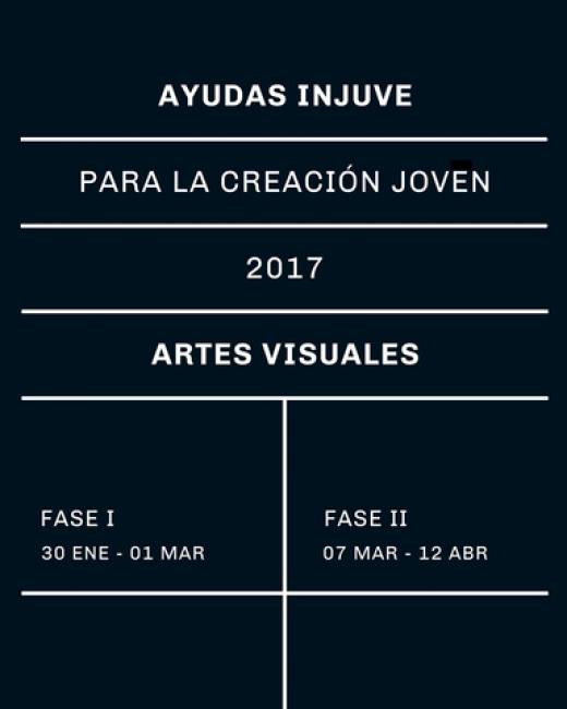 Ayudas Injuve para la Creación Joven 2017 Artes Visuales - Fase II