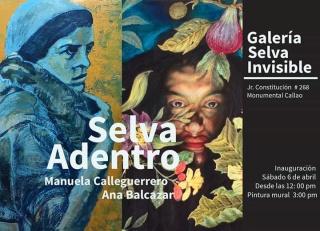 """Exposicion bi-personal """"Selva invisible"""""""