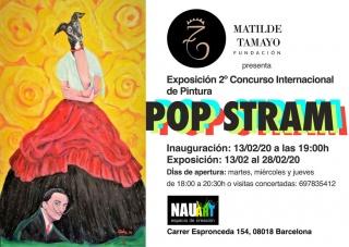 Exposición 2do Concurso de Pintura Pop Stram