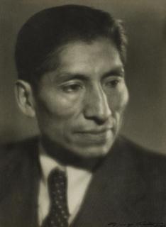 Martín Chambi. retrato realizado en la ciudad de Osorno. 1936
