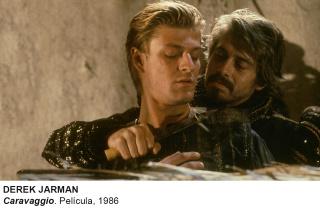 Derek Jarman, Caravaggio. Película, 1986 — Cortesía del Museo Nacional Centro de Arte Reina Sofía (MNCARS)
