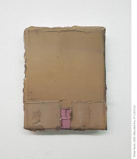 Mercedes Mangrané. Portal Tierno, 2020. Óleo sobre lino, 27x22'5 cm. — Cortesía de Ana Mas Projects