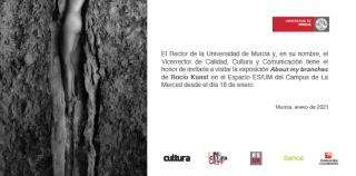 Rocío Kunst. About my branches - Invitación