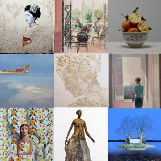 Diferents primaveres (2021) - galeria Jordi Barnadas, Barcelona