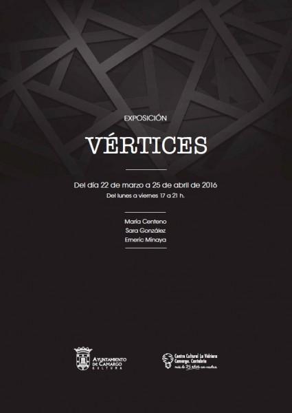 Cartel Exposición Vértices