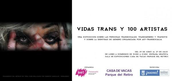 Vidas Trans y 100 artistas