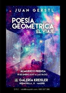 Juan Gerstl, Poesía geométrica. El viaje
