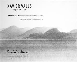 Xavier Valls. Dibujos, 1962-2001