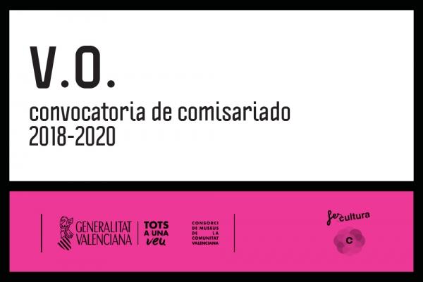 CONVOCATORIA PARA COMISARIADO 2018-2020 DE MUSEOS DE LA GENERALITAT VALENCIANA