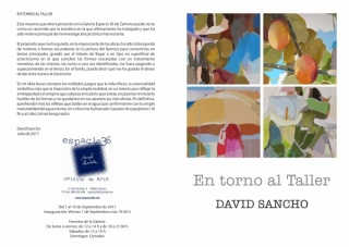 David Sancho. En torno al Taller