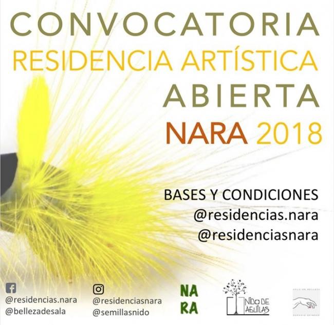NARA - NIDO DE ÁGUILAS RESIDENCIA ARTÍSTICA 2018