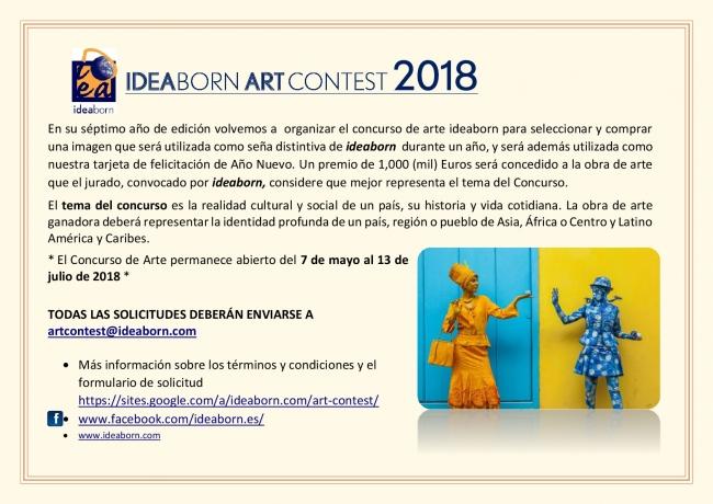 concurso de arte ideaborn 2018