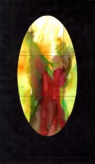 Joan Vila-Grau, Estat Final Virall de la llum transcepte sud 24x41 — Cortesía de la Galería de Arte Anquin's