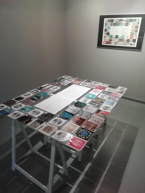 Vista de la exposición — Cortesía de la Sala aLfaRa