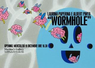 Laurina Paperina & Albert Pinya. Wormhole — Cortesía de Martina's Gallery
