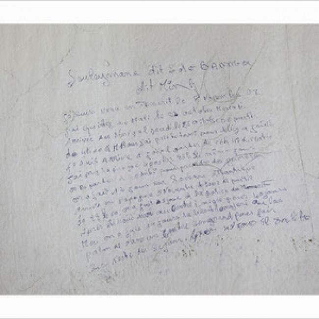 Patricia Gómez y María Jesús González, «Please don't paint the wall y Please don't paint the wall. Charlie – D» (detalle) — Cortesía de Greens Power Products / Honda