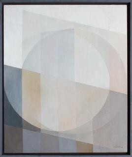 Salvador Victoria, Sin título, 1980. Óleo/tabla — Cortesía de la galería Tiempos Modernos