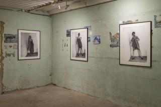 Susana Pilar - Llave maestra (Master key) 2012, digital prints, black and white, matt paper photos, 80 x 60 cm each. Photo Oak Taylor-Smith