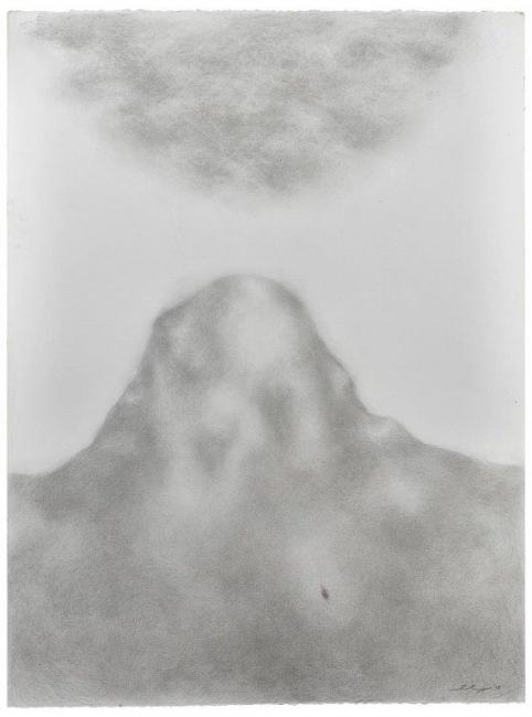 Benji Liebmann, Untitled, 2009. Graphite on paper. 70x90cm. page 110 — Cortesía de la galería Marta Moriarty