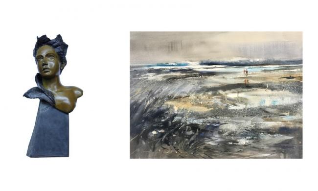 Mavi Arbeloa y Aurora Charlo. Dos mujeres en el arte — Cortesía de la Galería A del Arte