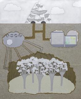 Guillermo Peñalver, Dentro de la montan?a, 2020 — Cortesía de la Galería Gema Llamazares