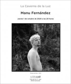 Manu Fernández. Retrato de Manu, 2020 — Cortesía de La Caverna de la Luz