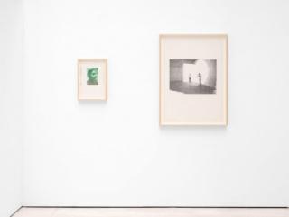"""Vista de la exposición """"Jerry B. Martin: Four drawings on Performance"""" — Cortesía de Cecilia Brunson Projects"""