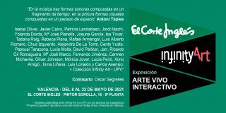 Exposición Infinity Art. Arte vivo interactivo.
