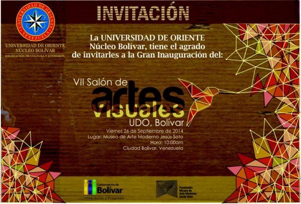 VII Salón de Artes Visuales de la Universidad de Oriente Núcleo Bolívar