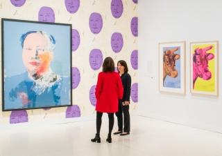 Una de las salas de esta exposición que ya ha sido visitada por más de 485.000 personas en las sedes de CaixaForum en Barcelona y Madrid © CaixaForum — Cortesía del Museo Picasso Málaga