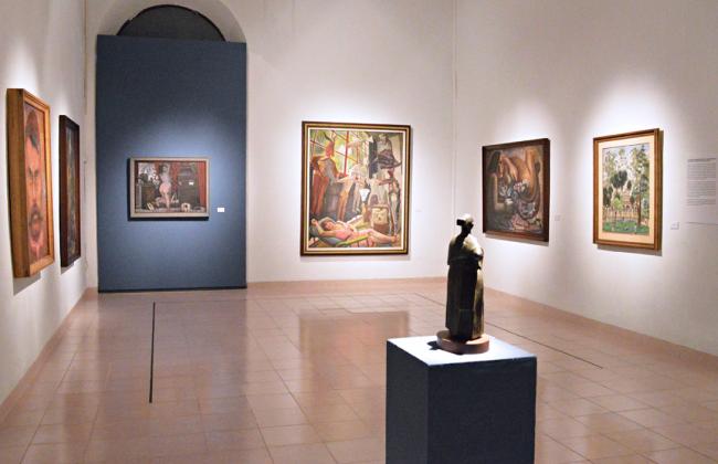 Sala 8 bis del Museo Fernando García Ponce - Macay