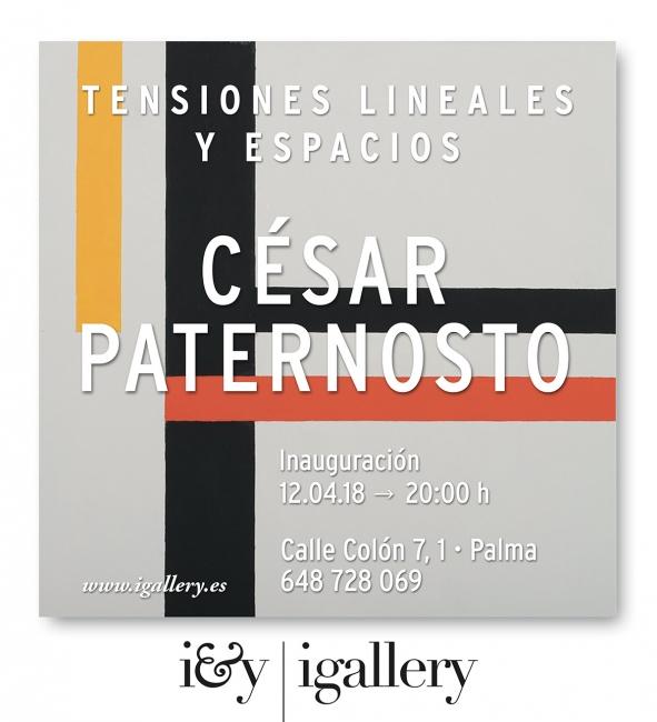 Cesar Paternosto. Tensiones lineales y espacios