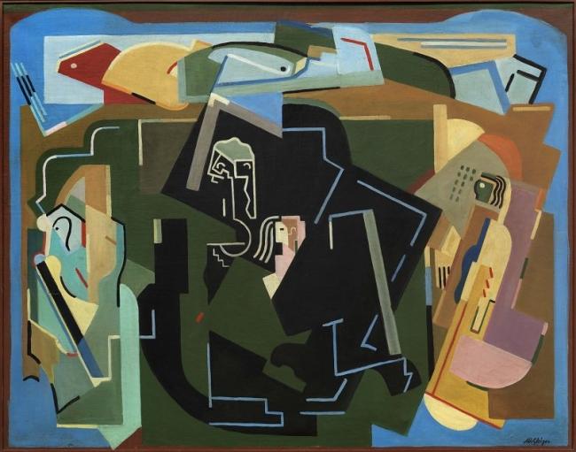 """Premio a la mejor exposición histórica en galería para """"La inspiración clásica de Las Vanguardias"""" de la Galería Barbié — Cortesía de MAHALA"""