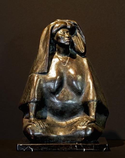 Francisco Zuniga, La Calera, 1977, bronze.