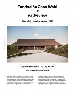 Fundación Casa Wabi & Art Review Open Call Residency Award 2019