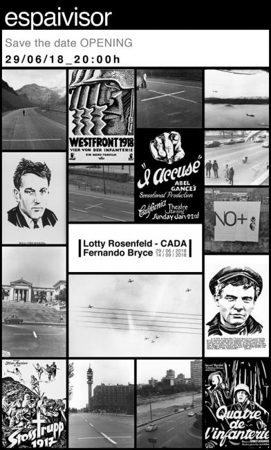Lotty Rosenfeld - CADA / Fernando Bryce