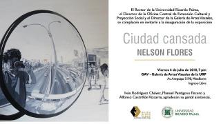 Ciudad Cansada. Imagen cortesía Instituto de Investigaciones museologicas