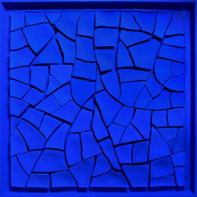 Cracked Blue I, de Pin Vega