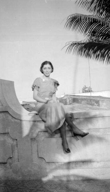 Belkiss Adrover © Atilano Sánchez, Ciudad Trujillo, 1938. Imagen cortesía  Ylonka Nacidit-Perdomo