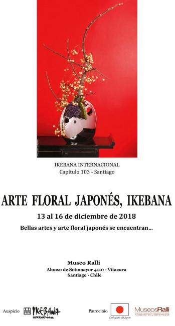 Arte Floral Japonés, Ikebana