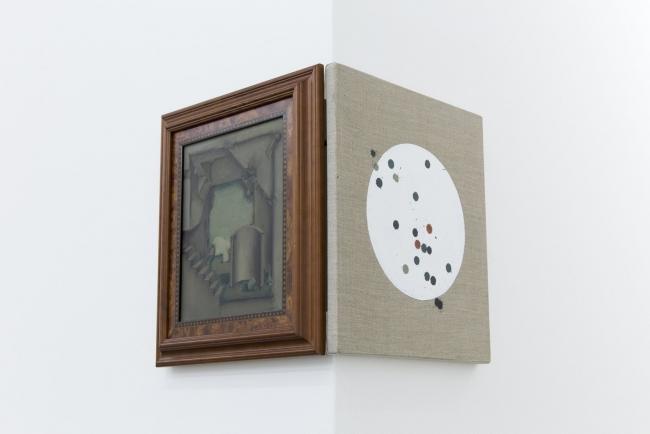 Ana Bidart, Tiro al blanco (Enrique Guzmán), 2019, Pintura acrílica sobre lino