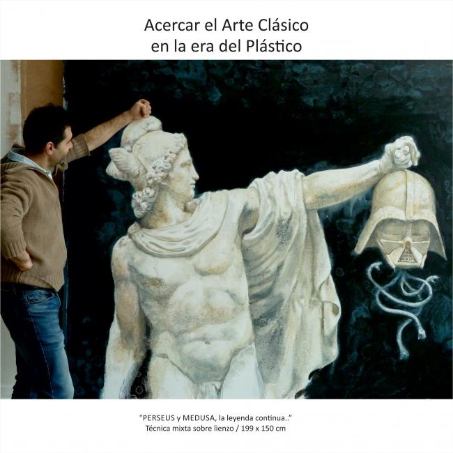 Arte clásTico - Daniel Yordanov_ Perseus y Medusa