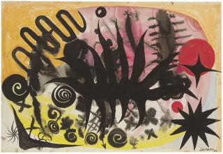 Sin título, 1953, Alexander Calder — Cortesía de la Galería Elvira González