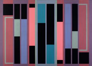 Fanny Sanín. 1974. Acrílico N.° 1. Obra de la Colección MAMBO.