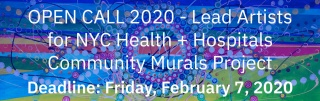 2020 NYC Health + Hospitals - Community Murals Project (background image: Sophia Chizuco, Circle of Life)
