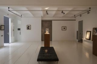 Vista de la exposición de Jordi Alcaraz en la galería Miquel Alzueta — Cortesía de Miquel Alzueta